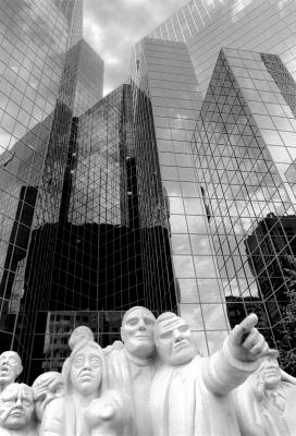 Les statues de Montreal